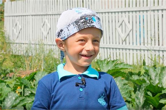 Ребенок Русфонда – «хрустальный» мальчик Матвей Ладышков – стал героем фильма