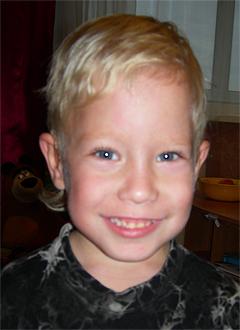 Валя Мерцалов, 6 лет, двусторонняя сенсоневральная глухота, требуются слуховые аппараты. 276094 руб.