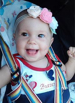 Маша Чебан, полтора года, поражение центральной нервной системы, требуется лечение. 199620 руб.