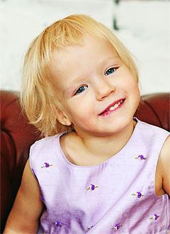 Ксюша Ляшева, 4 года, детский церебральный паралич, требуется инвалидное кресло-коляска. 189441 руб.