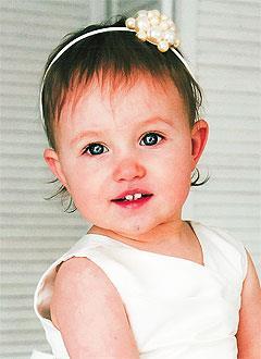 Агата Стрелкова, полтора года, врожденный порок сердца, спасет эндоваскулярная операция. 339063 руб.