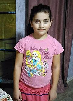 Пинар Усманова, 9 лет, тяжелый врожденный порок сердца, спасет замена электрокардиостимулятора. 177134 руб.