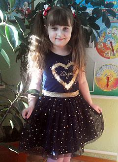 Соня Ищерякова, 6 лет, врожденный порок сердца, спасет эндоваскулярная операция. 339063 руб.