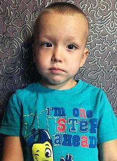 Савелий Васильев, 4 года, детский церебральный паралич, требуется лечение. 199430 руб.