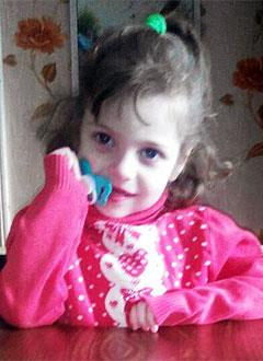 Лиза Лыкова, 6 лет, детский церебральный паралич, эпилепсия, требуется инвалидная коляска. 324958 руб.