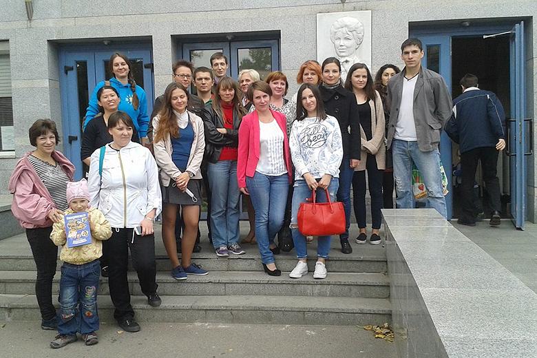 Участники сообщества «Энергия жизни» пришли сдать кровь для типирования<br/>в НИИ имени Р.М. Горбачевой (Санкт-Петербург)