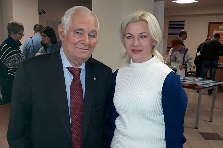 Леонид Рошаль и Надежда Первова